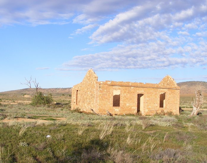 Ruin In The Flinders Ranges