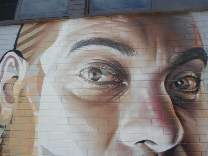 Street Art Of Face