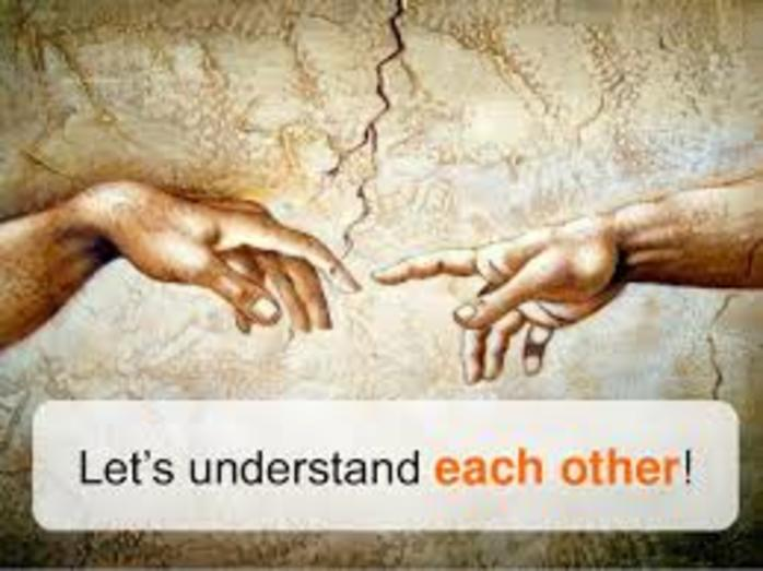 Try to Understand Each Other